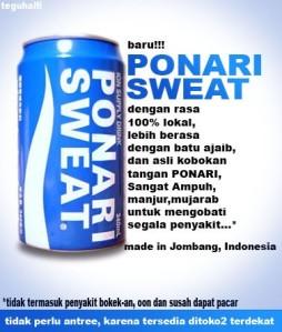 Ponari sweat...